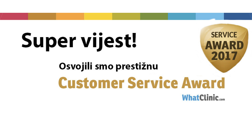 Dental Care Croatia rated best for service by Whatclinic.com